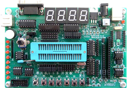 单片机USB实验开发板
